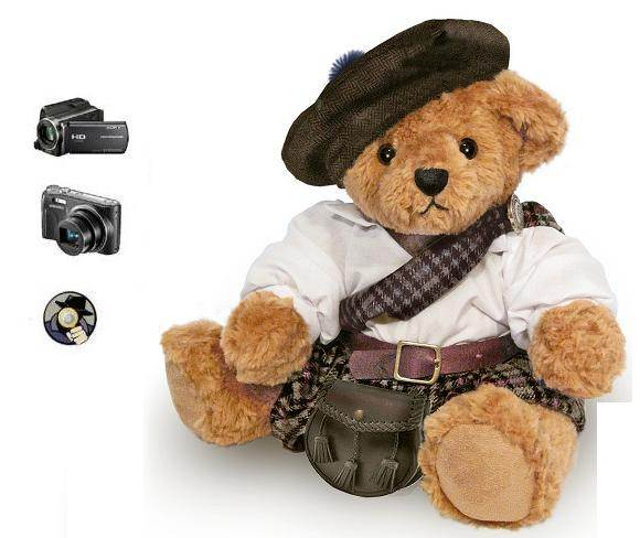 SPY SECRET TEDDY BEAR CAMERA
